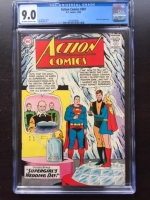 Action Comics #307 CGC 9.0 ow/w