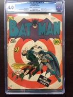 Batman #7 CGC 4.0 cr/ow