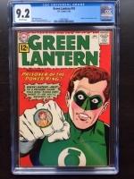 Green Lantern #10 CGC 9.2 ow