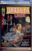 Dracula Lives #7 CGC 9.6 w