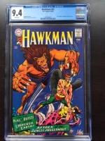 Hawkman #21 CGC 9.4 w