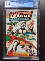 Justice League of America #15 CGC 9.4 w