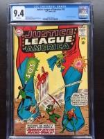 Justice League of America #18 CGC 9.4 w