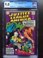 Justice League of America #46 CGC 9.0 w