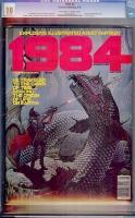 1984 #3 CGC 9.9 ow/w