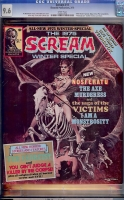 Scream #11 CGC 9.6 w
