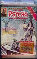 Psycho #24 CGC 9.8 ow/w
