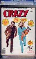 Crazy #18 CGC 9.8 w