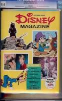 Disney Magazine #1 CGC 9.4 w