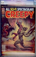 Creepy #107 CGC 9.8 ow/w