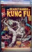 Deadly Hands of Kung Fu #27 CGC 9.6 ow