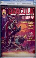 Dracula Lives #6 CGC 9.6 ow/w
