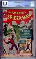 Amazing Spider-Man #2 CGC 5.5 ow/w