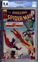 Amazing Spider-Man #17 CGC 9.4 ow/w