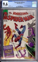 Amazing Spider-Man #21 CGC 9.6 ow/w