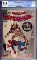 Amazing Spider-Man #34 CGC 9.6 ow/w