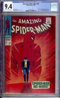 Amazing Spider-Man #50 CGC 9.4 ow/w