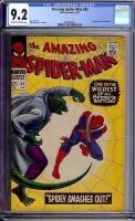 Amazing Spider-Man #45 CGC 9.2 ow/w