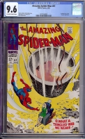 Amazing Spider-Man #61 CGC 9.6 ow/w