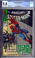 Amazing Spider-Man #65 CGC 9.8 ow/w