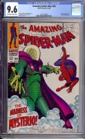 Amazing Spider-Man #66 CGC 9.6 ow/w