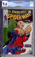 Amazing Spider-Man #69 CGC 9.6 ow/w