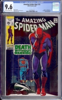 Amazing Spider-Man #75 CGC 9.6 ow/w