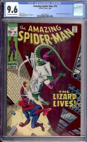 Amazing Spider-Man #76 CGC 9.6 ow/w