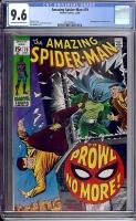 Amazing Spider-Man #79 CGC 9.6 ow/w
