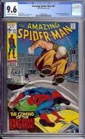 Amazing Spider-Man #81 CGC 9.6 ow/w