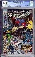 Amazing Spider-Man #82 CGC 9.8 ow/w