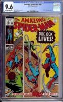 Amazing Spider-Man #89 CGC 9.6 ow/w