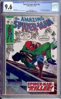 Amazing Spider-Man #90 CGC 9.6 ow/w
