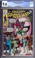 Amazing Spider-Man #91 CGC 9.6 ow/w
