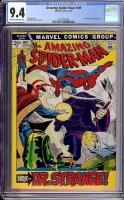Amazing Spider-Man #109 CGC 9.4 ow/w