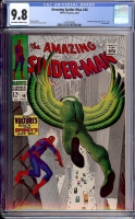Amazing Spider-Man #48 CGC 9.8 ow/w