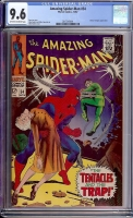 Amazing Spider-Man #54 CGC 9.6 ow/w
