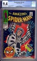 Amazing Spider-Man #58 CGC 9.4 cr/ow