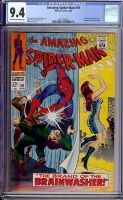 Amazing Spider-Man #59 CGC 9.4 cr/ow