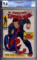 Amazing Spider-Man #73 CGC 9.6 ow/w