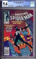 Amazing Spider-Man #252 CGC 9.6 ow/w