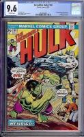 Incredible Hulk #180 CGC 9.6 ow