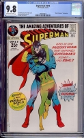 Superman #243 CGC 9.8 ow/w