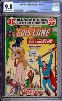 Superman's Girlfriend Lois Lane #124 CGC 9.8 ow/w