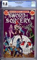 Sword of Sorcery #2 CGC 9.8 ow/w