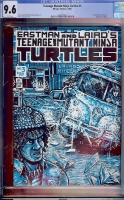 Teenage Mutant Ninja Turtles #3 CGC 9.6 w