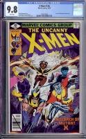 X-Men #126 CGC 9.8 w
