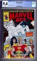 Marvel Age #82 CGC 9.4 w