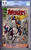 Avengers #48 CGC 9.2 ow/w