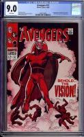 Avengers #57 CGC 9.0 w